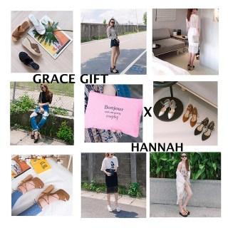 [聯名] Grace gift X Hannah Y. 夏季聯名鞋上市 ( 最終回 ) !