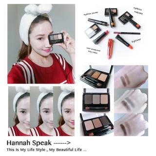 [美妝] Maybelline時尚3D立體雙效眉彩盤,輕鬆打造韓式平眉!