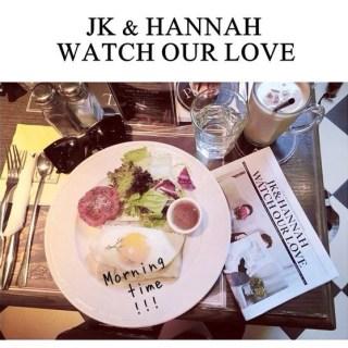 [漢娜報]Wedding paper : JK&HANNAH WATCH OUR LOVE : )
