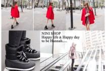 [穿搭]NINI SHOP限時連線,1/06~1/11大紅外套讓我充滿回憶!!!
