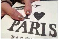 [光療指甲]帶著小熊一起飛往- – – – ->PARIS
