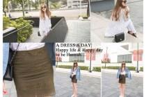 [穿搭]穿著A dress a day的好品味,一起牽手逛北美館!!!