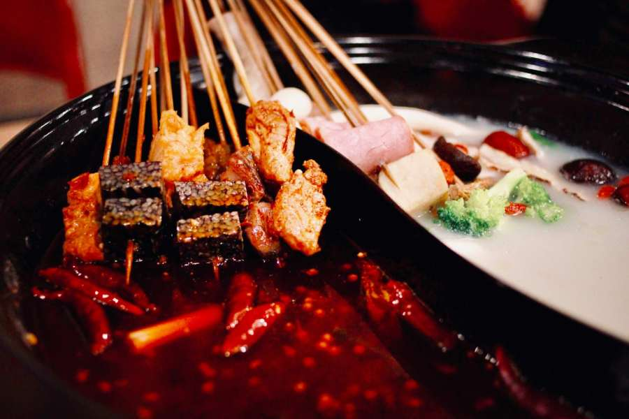 【桃園】桃園蜀芊芊串串香,用竹籤串出好滋味