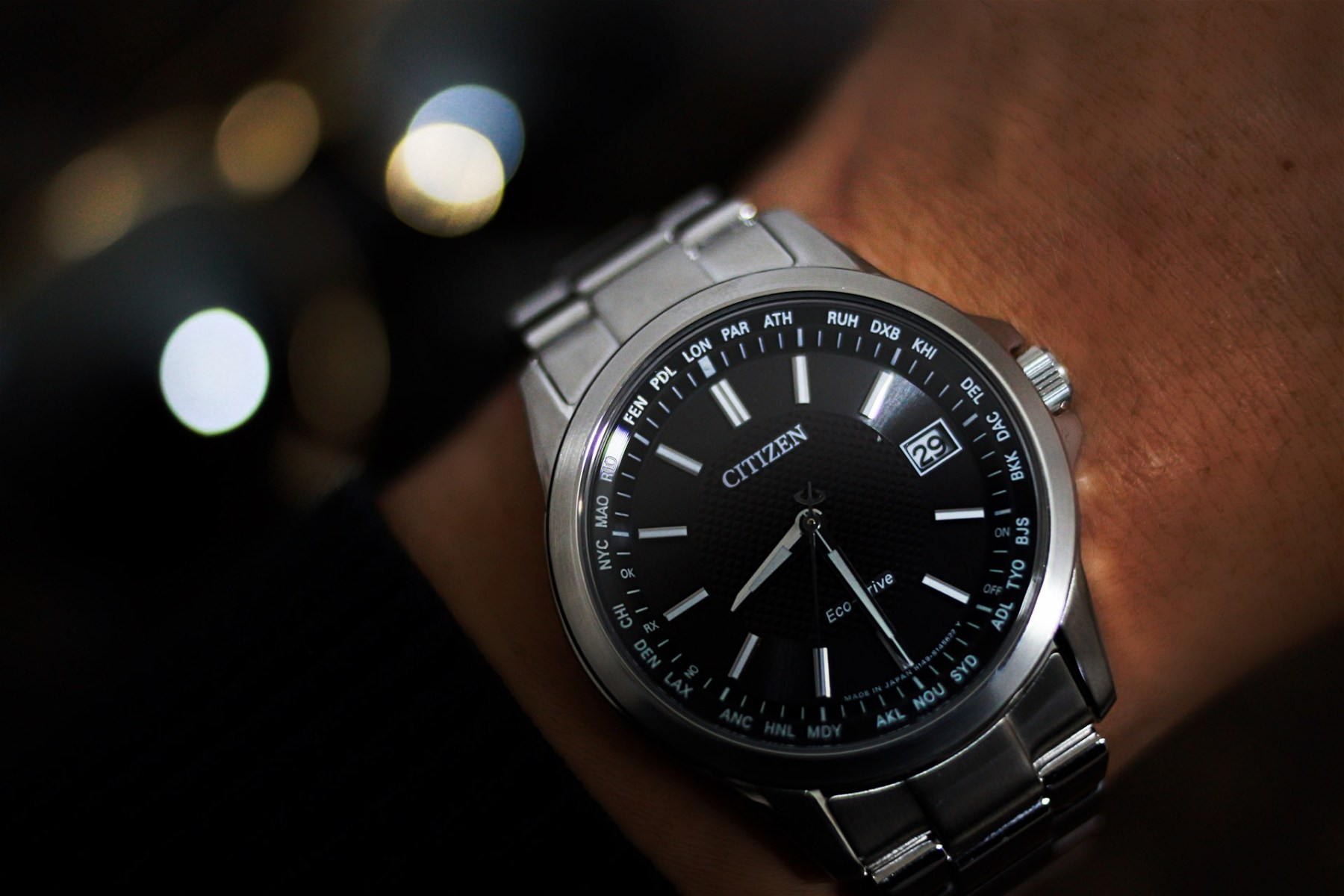 【分享】CITIZEN光動能電波錶,準時就是生活的一種態度