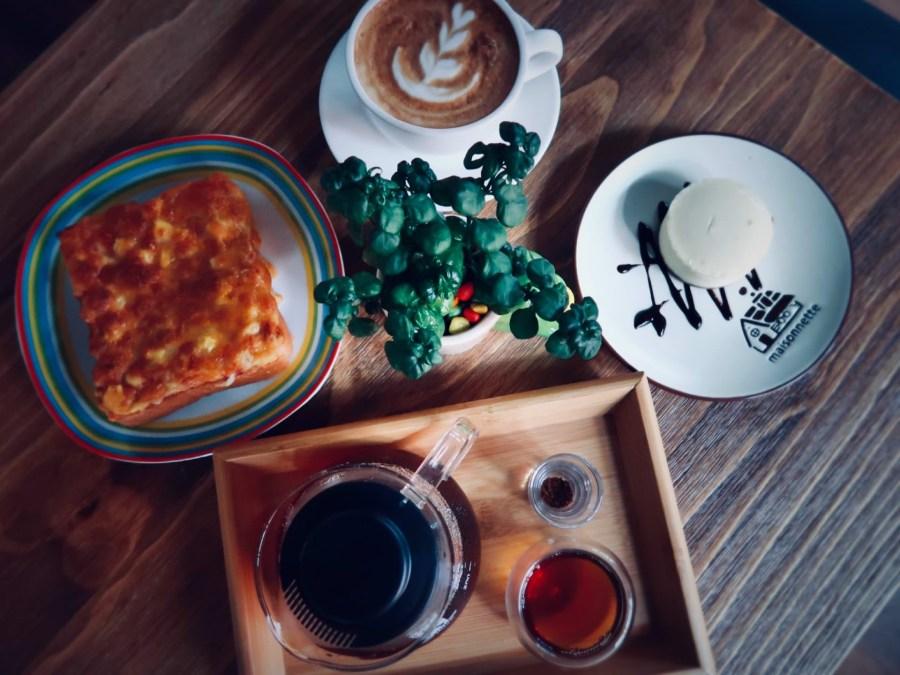 【桃園】中壢晴天咖啡,不過是網美打卡熱點的咖啡點