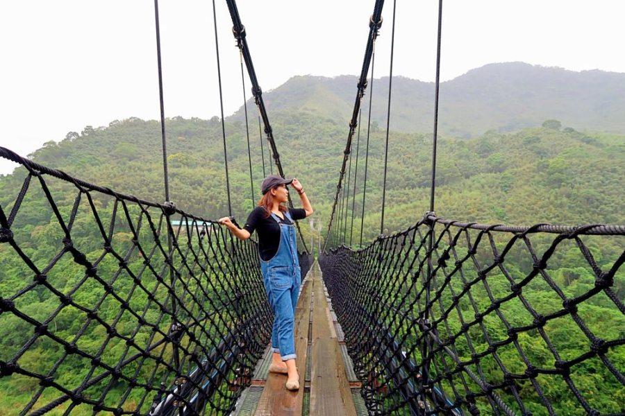 桃園旅遊景點/復興泰雅故事公園、樂信瓦旦紀念公園、義興吊橋,用一顆強大的心臟來走吊橋吧!
