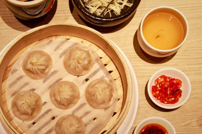 桃園美食/台茂漢來上海湯包,南台灣最強的皮薄餡豐湯包,終於來北部插旗啦!