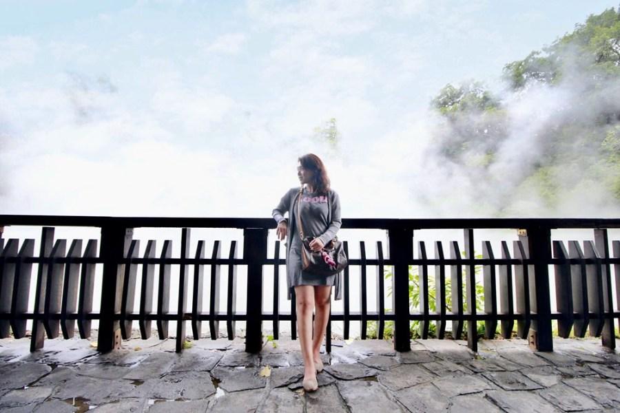 台北旅遊景點/北投地熱谷,觀光客必走之景點,Ann竟然是第一次來!