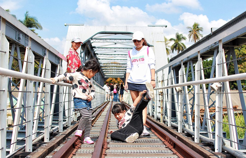 雲林旅遊景點/虎尾驛、虎尾糖廠冰品部、同心公園、虎尾鐵橋,散步休憩的好去處
