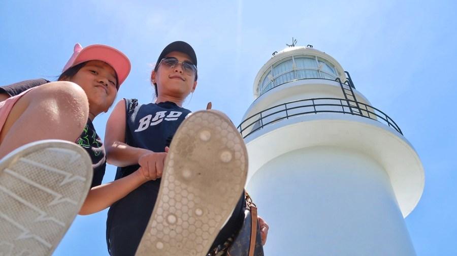 新北旅遊景點/貢寮三貂角燈塔,只要靜靜的經過夜總會就可以來到台灣最東邊的美麗燈塔