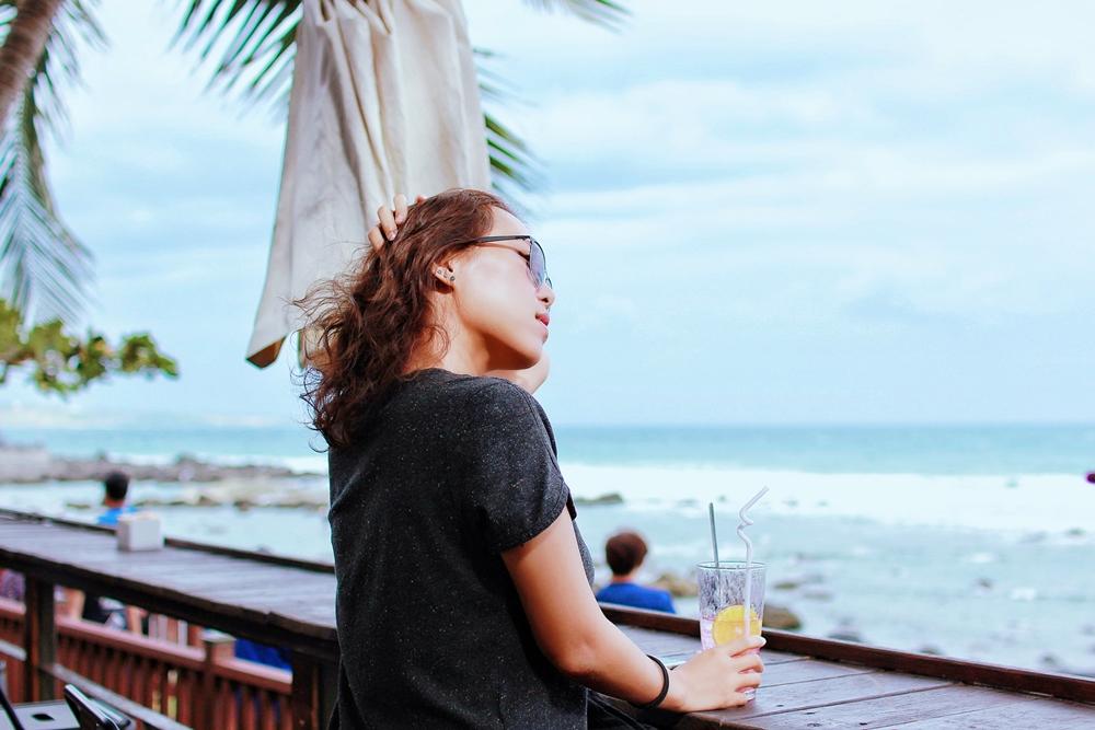 台東景觀餐廳/卑南逐浪海景咖啡,一覽富山護漁區的絕佳海景,拍照打卡也很推