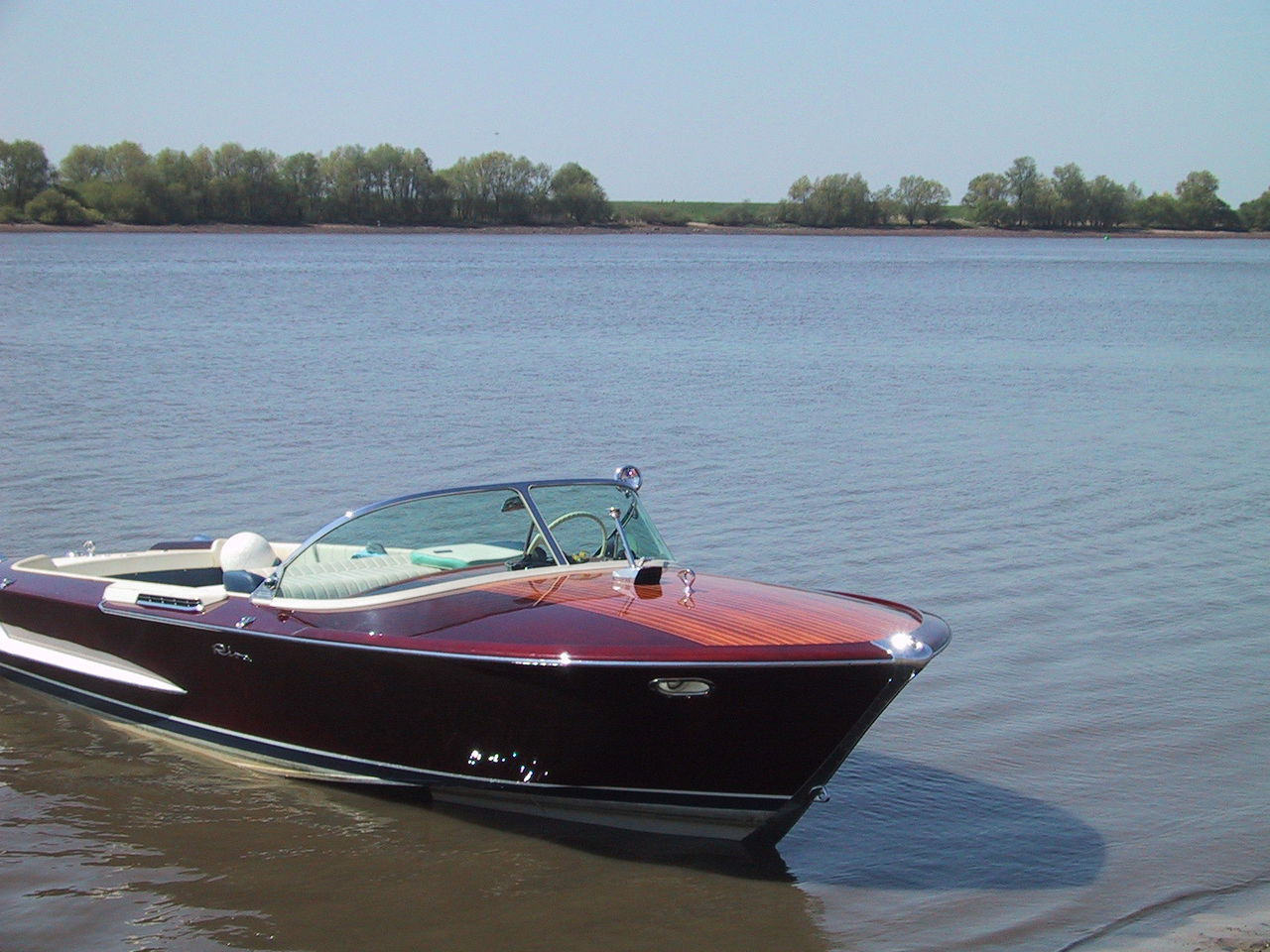 Riva Olympic For Rent On Trailer On Trailer