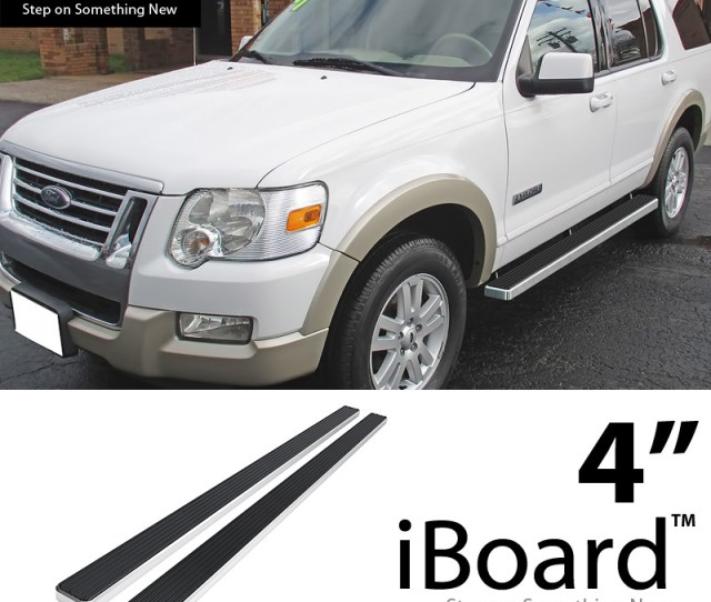 Image Is Loading Eboard Running Boards Silver 4