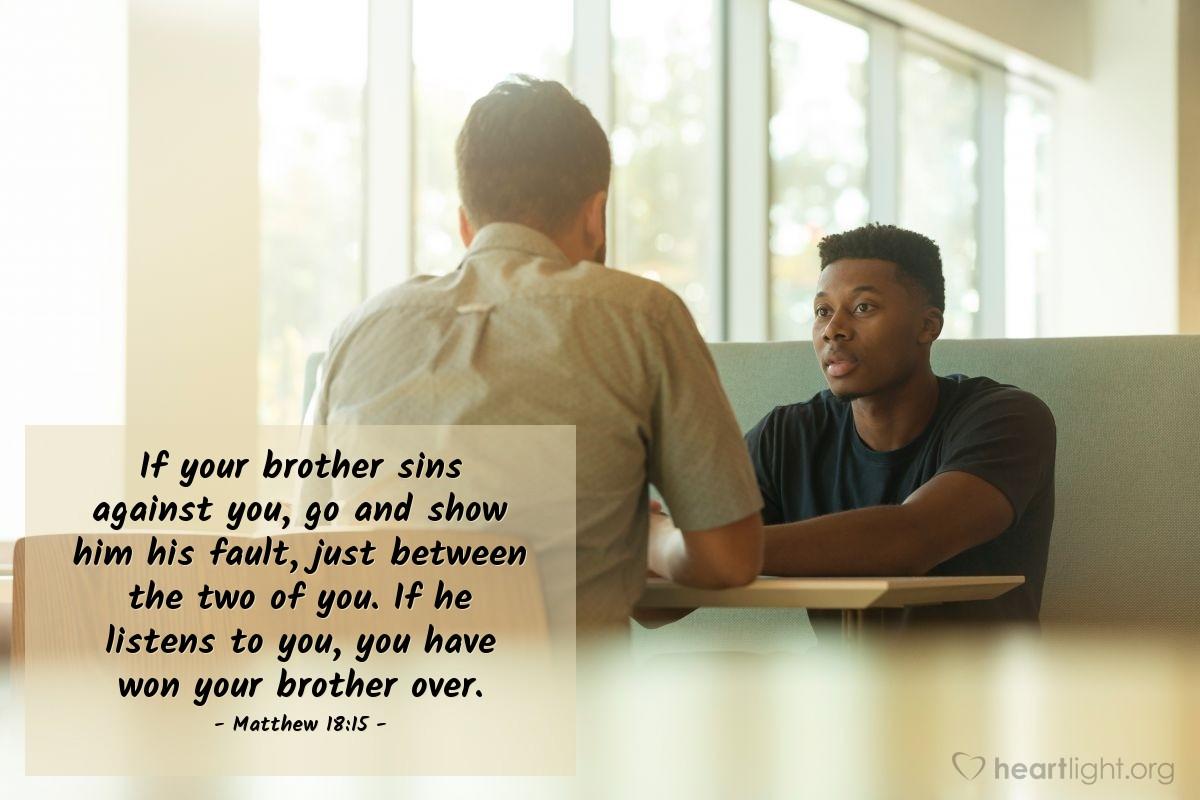 Matthew 18 15