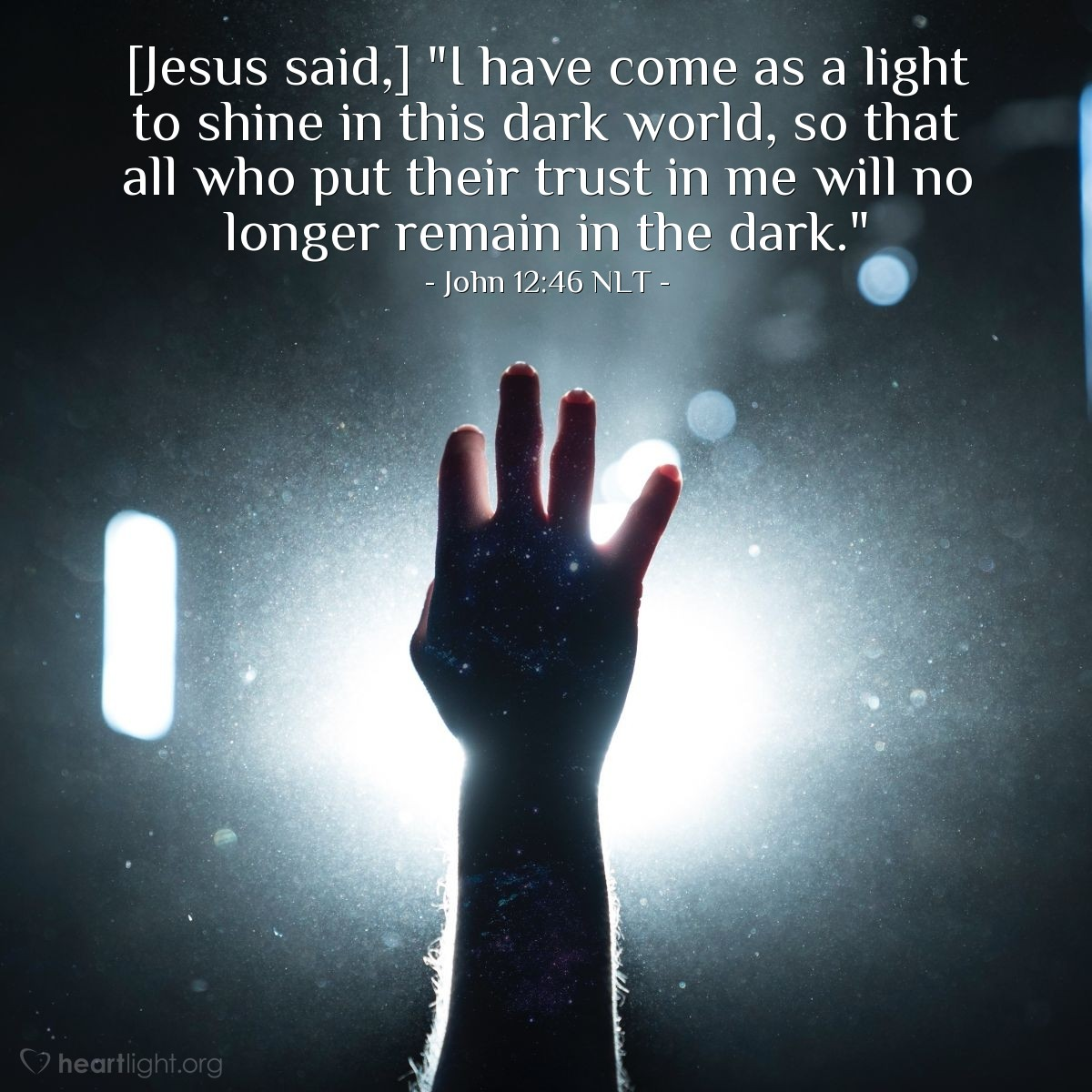 "Escape from Darkness"" — John 12:46 (What Jesus Did!)"