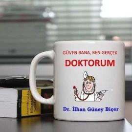 Doktorlara Güven Hediyesi Kahve Kupası