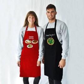 Bayana Yılbaşı Hediyesi İsim Yazılı Mutfak Önlüğü