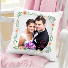 Aşık Çiftlere Özel Fotoğraf Baskılı Yastık