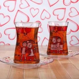 Sevdiklerinize Hediye Çay Bardağı Seti