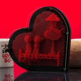Romantik Hediye Pinart Çivi Sanatı