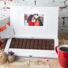 Kız Arkadaşa Tebrik Hediyesi Çikolata