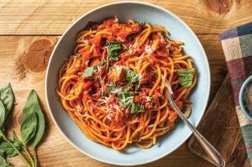 Porcini Mushroom Spaghetti Bolognese Recipe | HelloFresh