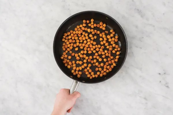 FRY THE CHICKPEAS
