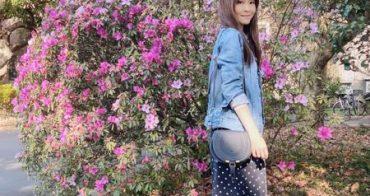 [日常穿搭] Chloe marcie包+AG牛仔外套+ANINE BING上衣+日貨點點裙+Veja鞋