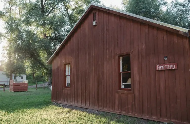 Homestead Cabin On The Conejos Camping