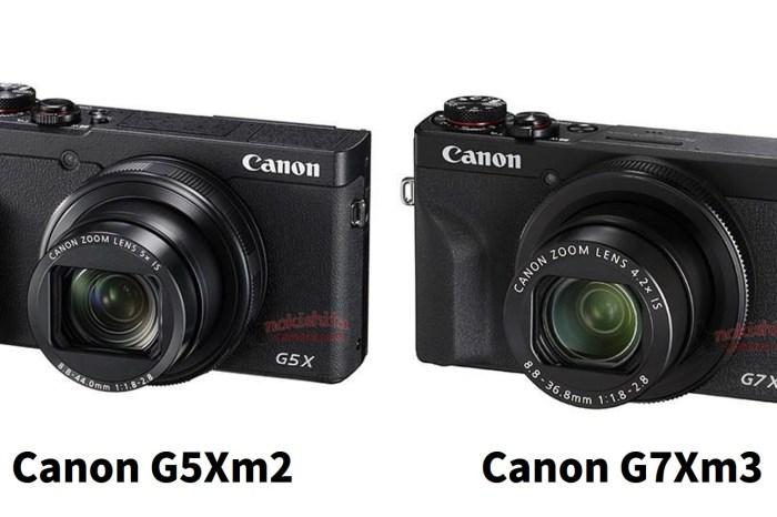 [3C NEWS] Canon 新機規格流出,Canon G5Xm2 , Canon G7Xm3 外型與規格