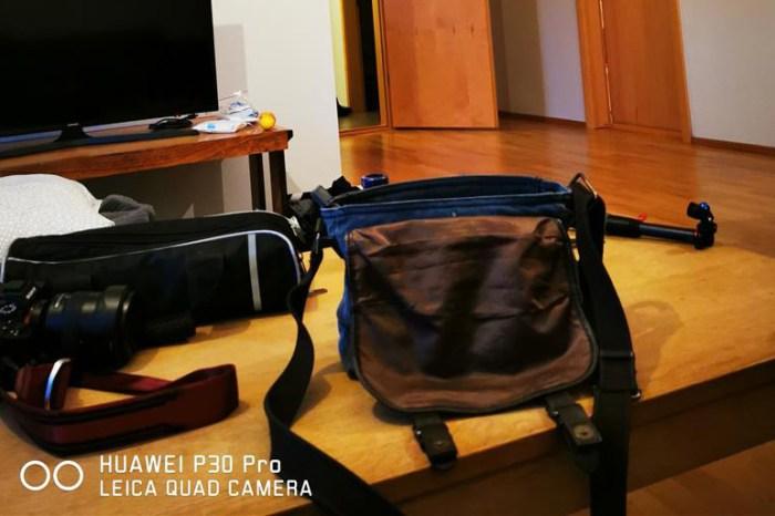 [想攝影55] 攝影日記 016 – 我工作用的側背包,要求的是「小,但又不小」,以及其設計