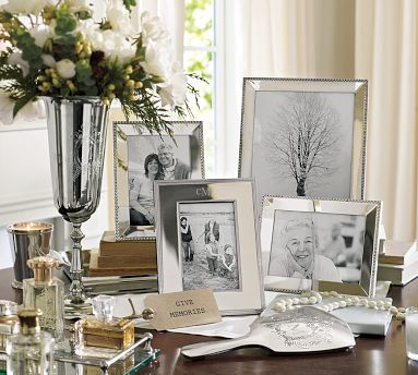 Classic Silver Plated Frames From The Pottery Barn