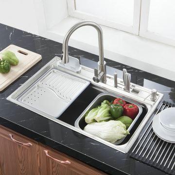 Modern Kitchen Sink Simple 304 Stainless Steel Sink