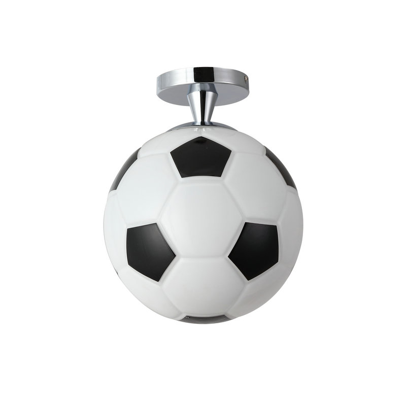 Modern Semi Flush Mount Ceiling Light With Football