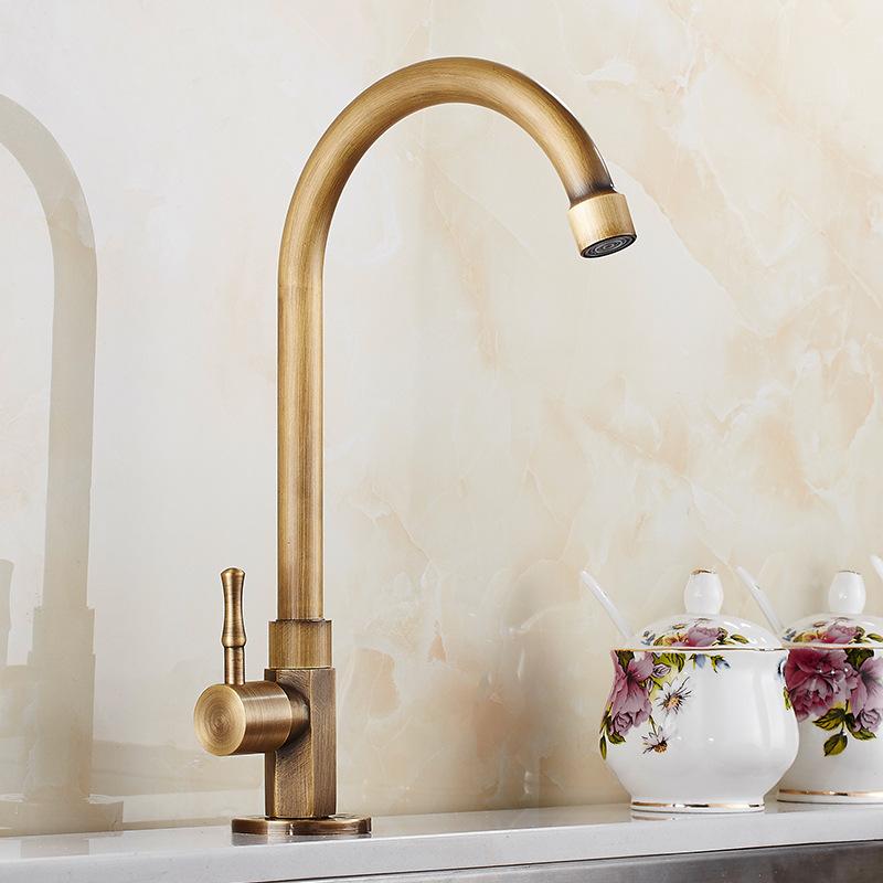 https m homelava com en antique faucet brushed finish brass sink faucet single hole single handle p32298 htm