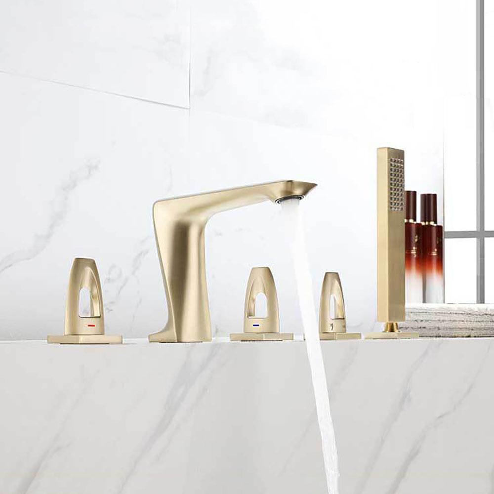 handheld shower head bathroom tub faucet