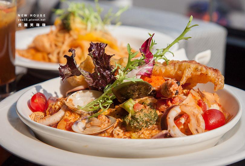 【美食】高雄|NEW HOUSE 歐風新食館,大份量的美味~學生聚會與家庭聚餐的好地方!