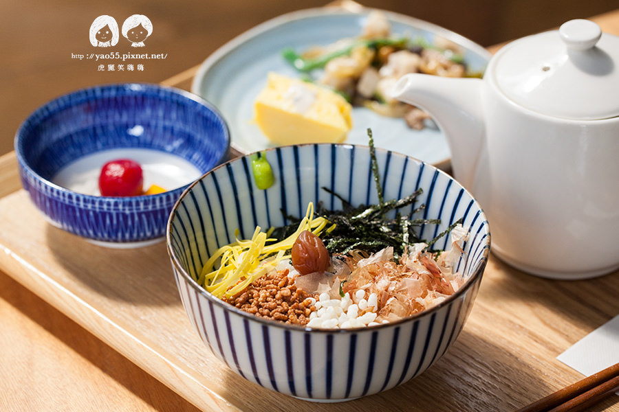 喜八珈琲店(高雄美食)日式早午餐!美味茶泡飯和厚鬆餅