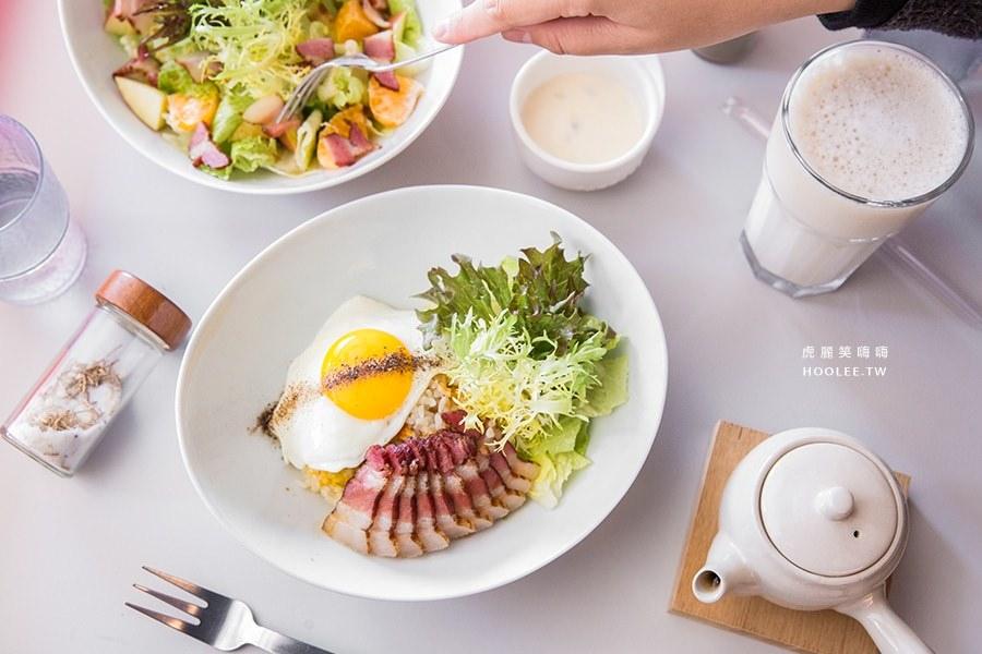 迪波波 藝食館(高雄美食 前金區) 早午餐推薦!祖傳特製甘蔗燻肉,會爆漿的熔岩巧克力蛋糕