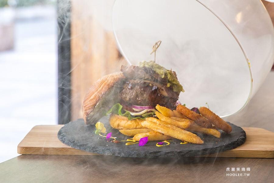 桑威奇 Only Love(高雄美食 苓雅區)創意手工漢堡!激推煙霧炸彈牛肉堡,限量美味要預訂才吃得到