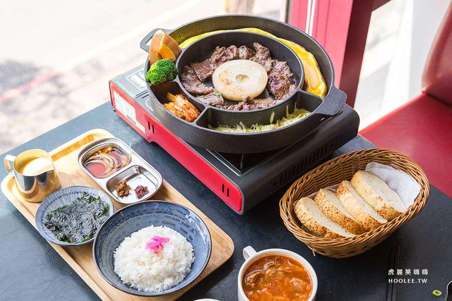19to1鮮選牛排專賣店(高雄)一個人的韓式球型烤肉,白飯飲料無限續加