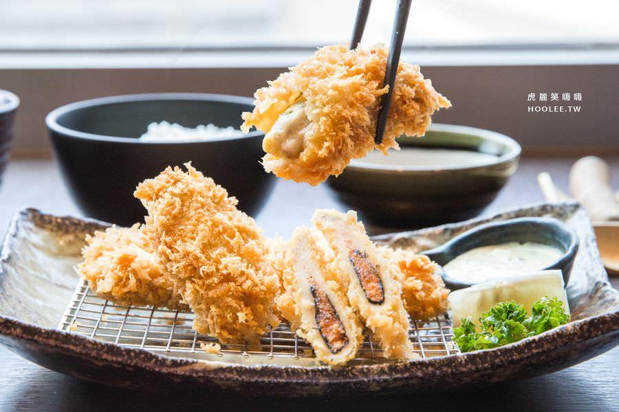 勝博殿日式豬排(高雄)2017秋季新品!廣島牡蠣與明太子雞肉餃套餐