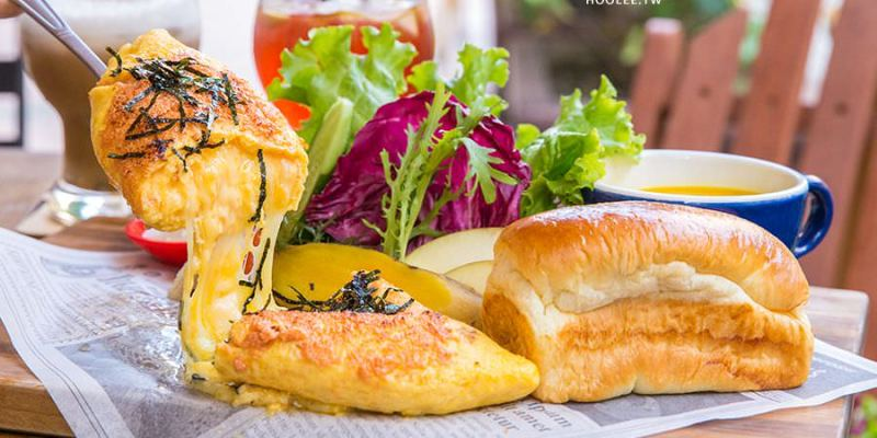 木上角食(高雄)浮誇系起司瀑布蛋捲,早午餐推薦!必吃天然酵母手作吐司