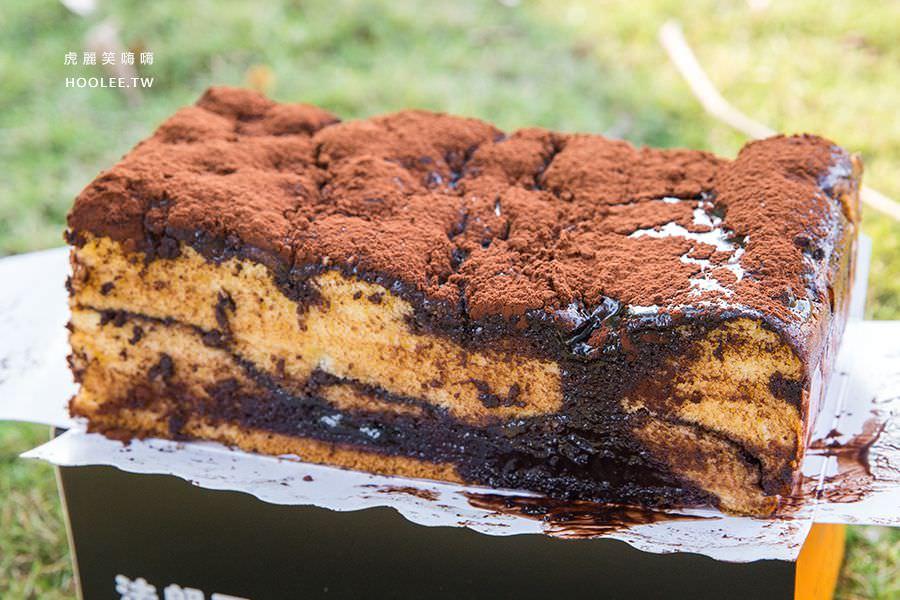 法朗西斯烘焙坊(高雄)超邪惡古早味蛋糕,秒殺甜點!必吃首創濃厚髒髒蛋糕