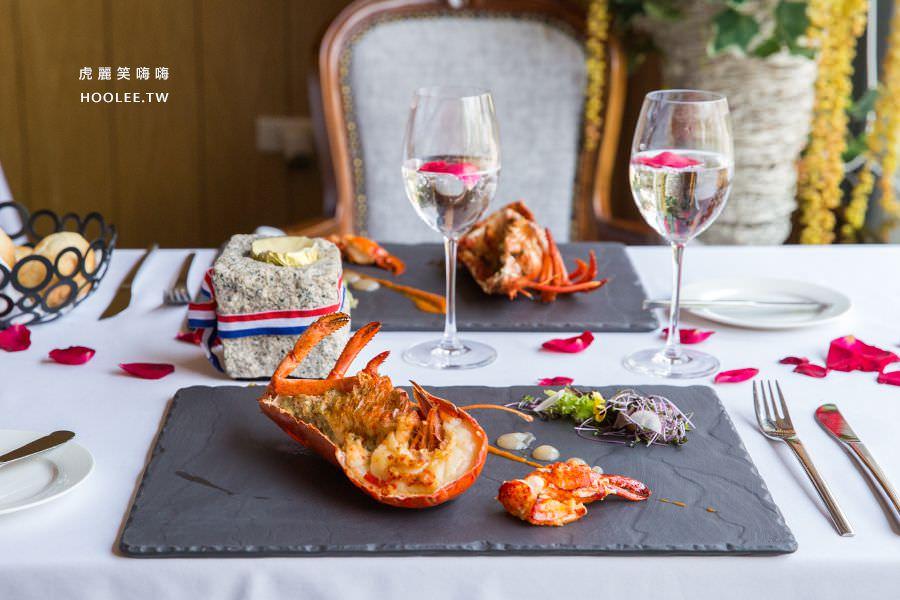 安多尼歐法式餐廳(高雄)雙人肋眼牛肉套餐,約會推薦!午餐限定櫻花甜點推車