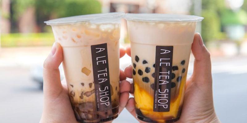 ㄚ樂茶店(高雄)咀嚼感黑糖鮮奶!推薦必點布丁珍珠,還有超人氣Q彈粉角