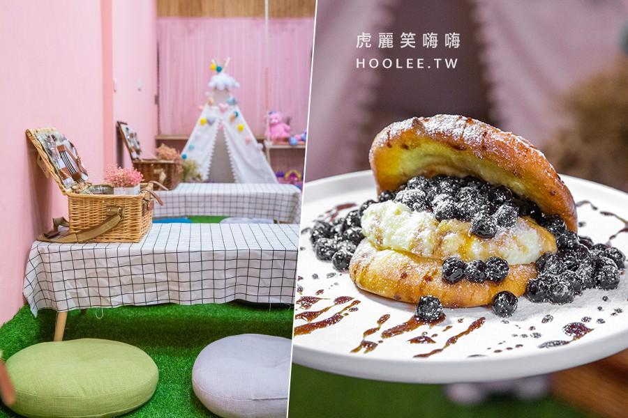 刈起野餐吧X古厝(高雄)夢幻粉紅網美店!約會野餐趣,甜甜的黑糖珍珠刈包