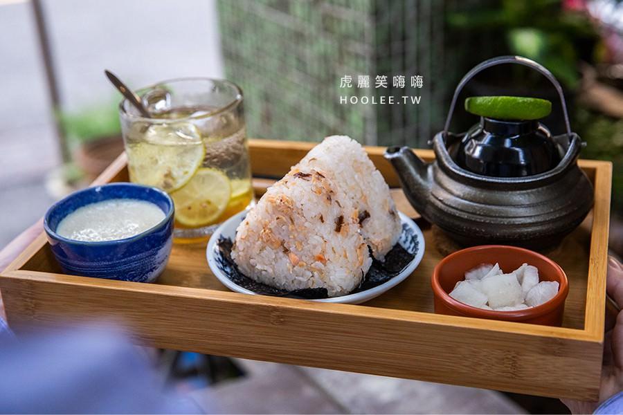 丸叄食伍(高雄)約會小聚好去處!超可愛三角胖飯糰,清爽香醇的鮭魚茶漬飯