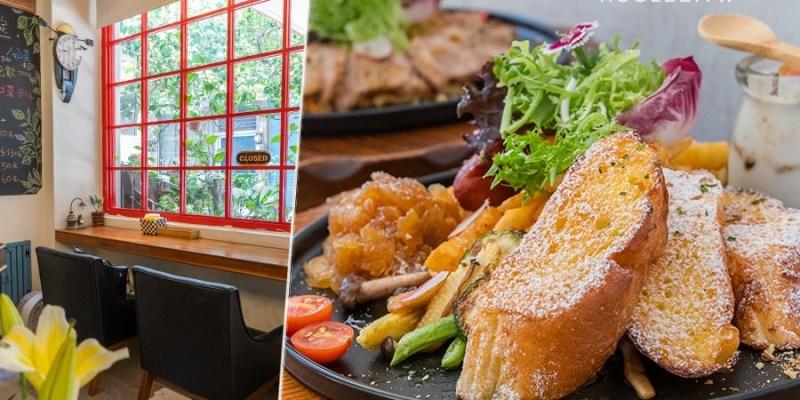 夯漫廚房(高雄)小清新浪漫餐廳!推薦經典法式輕食早午餐,隱藏版鹽烤豬頰肉咖哩燉飯