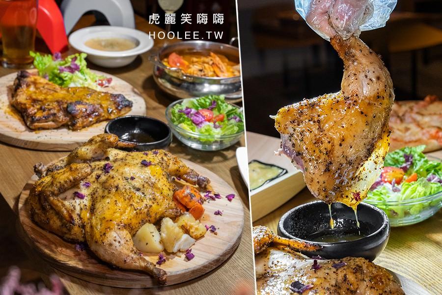 食光餐酒館(高雄)夢時代旁駐唱餐廳!肉食族必點鄉村烤全雞,還有義式小火鍋和創意調酒